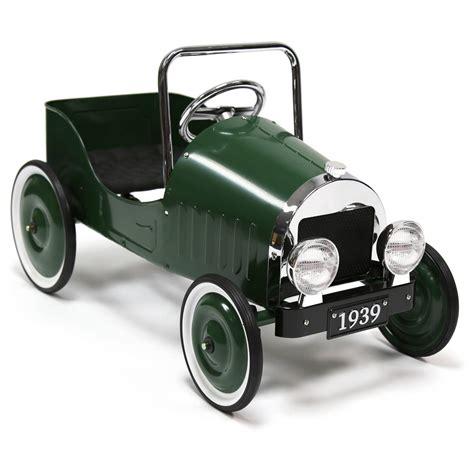 ride on car bentley kids vintage 1939 pedal car green