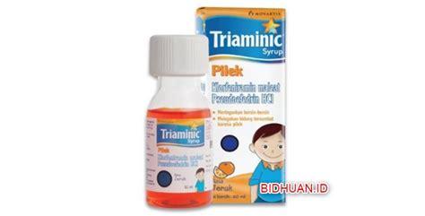 Obat Triaminic 12 obat pilek anak yang bagus dan terbaik dan cepat