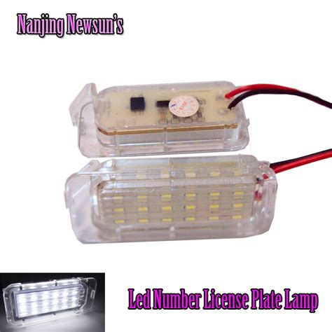 led license plate light l for sale car rear