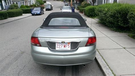 Chrysler Sebring Convertibles For Sale by 2005 Chrysler Sebring Limited Convertible For Sale