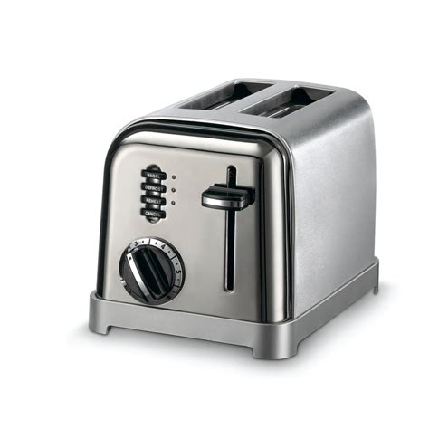 Cuisinart Stainless Steel Toaster shop cuisinart 2 slice stainless steel toaster at lowes