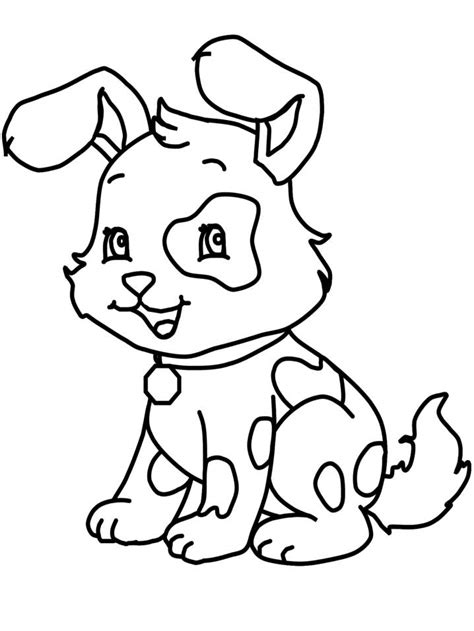Cute Puppies Coloring Pages Coloring Home Puppy Coloring Pages