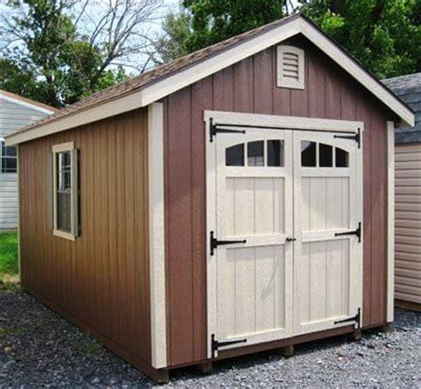 10x12 Storage Shed 10 215 12 Storage Shed Plans Blueprints For Constructing A