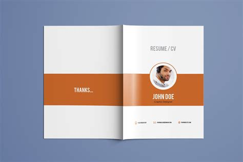 resume booklet template awesome indesign template booklet gallery exle resume