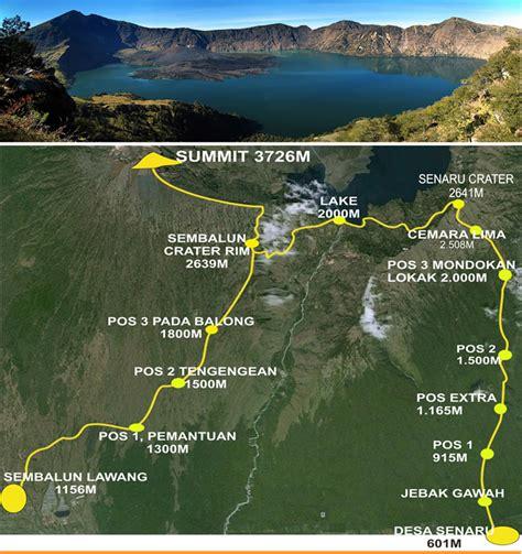 Jacket Gunung Co Trek Rinjani mount rinjani summit trek 2 days mountain rinjani