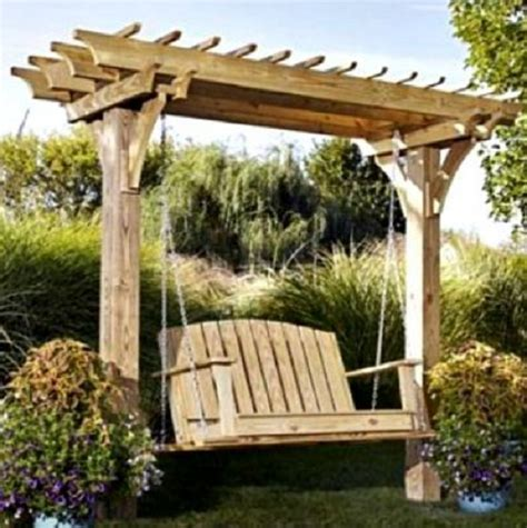 arbor swing plans outdoor furniture plans