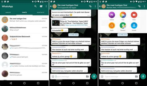 whatsapp themes for android 2015 whatsapp f 252 r android erh 228 lt material design update