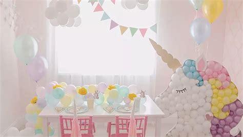 como decorar fiesta de unicornio fiesta de cumplea 241 os de unicornios todo para su decoraci 243 n