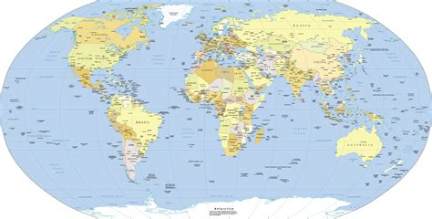 the world map world map free large images