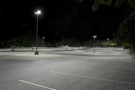 parking lot lighting solutions parking lots lexicon lighting technologies led ls