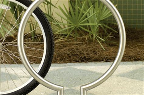 landscape forms bike racks ring bike rack