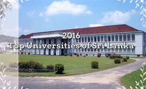 Pim Mba World Ranking by Sri Lanka Course Page 15 Of 28