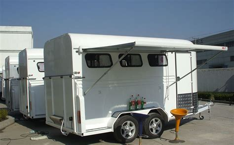 horse float awnings 3 horse floats angle load deluxe with awning alloy wheels