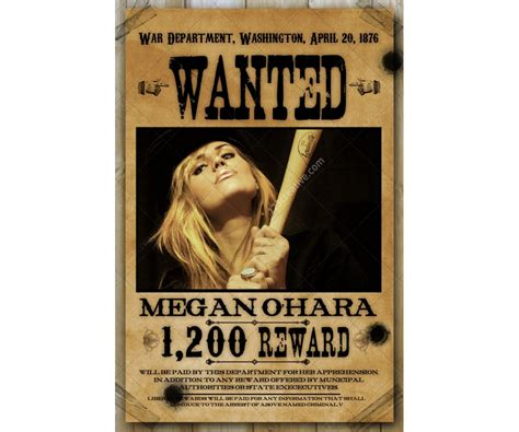 templates for wanted posters old west 1200 x