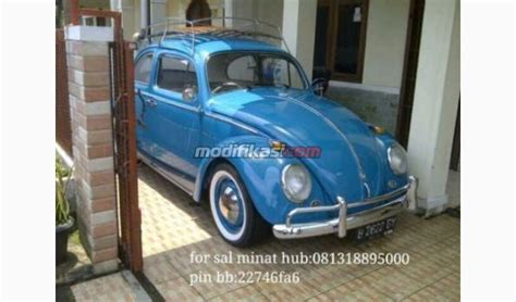 Vw Bug Biru vw kodok biru thn 1962