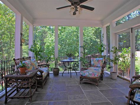 Southern Living Kitchens Ideas cottage porch with french doors amp screened porch in