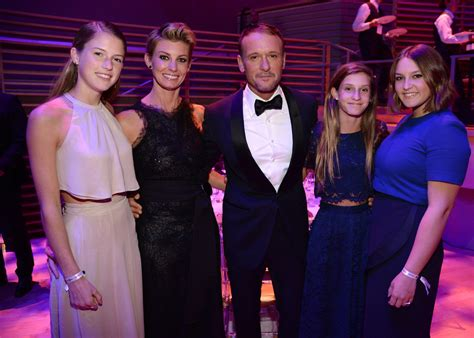 faith hill and tim mcgraw with daughters at time 100 gala popsugar celebrity