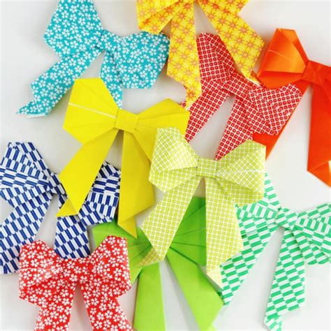 Origami Present Bow - the 11 best origami tutorials the eleven best