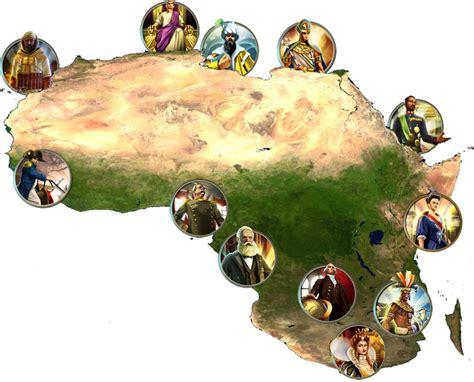 civ v africa map civ 5 scramble for africa strategy and achievement guide