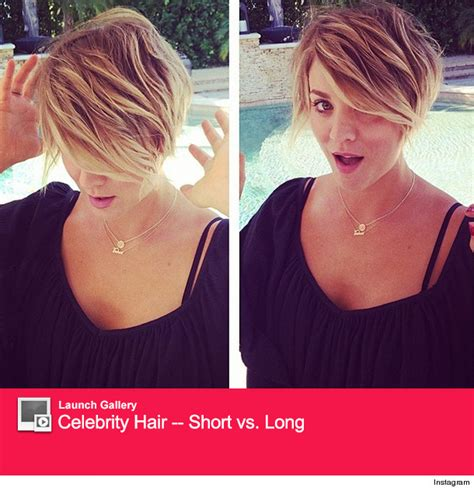 why kaley cuoco cut her hair kaley cuoco gets new quot peter pan quot haircut see the pic