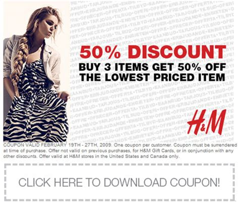 H And M Gift Card Buy Online - h m coupons retail printable coupons online
