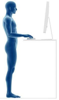 standing desk bad for you 1000 ideas about standing desks on stand up