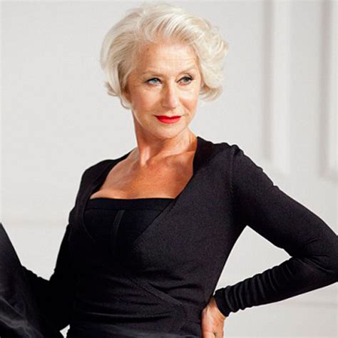 helen mirren recent hairstyles hairstyle ideas woman and home