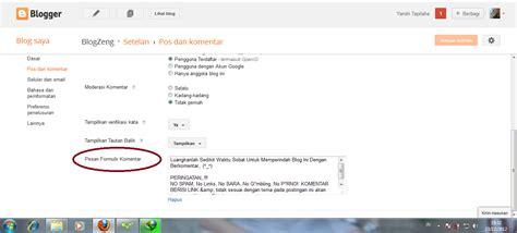 cara membuat blog khusus video catatan ku cara membuat pesan khusus di atas kotak komntar
