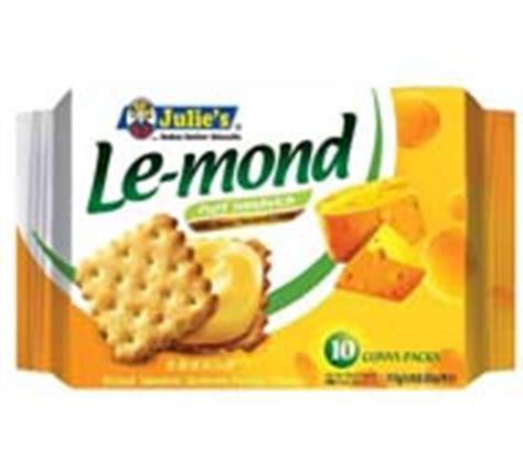 Julie S Le Mond Biskuit Lemon sandwich biscuit goodhill enterprise cambodia ltd