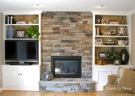bookshelves next to fireplace building a veneer fireplace tips for design decisions shelves living rooms and