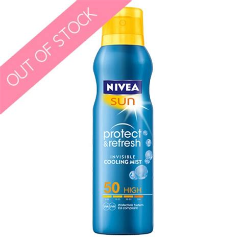 Harga Nivea Sun Whitening Sun Protection by Nivea Sun Protect Refresh Invisible Cooling Mist