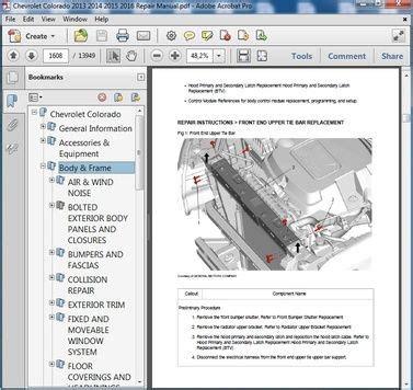 download car manuals pdf free 2005 chevrolet colorado electronic toll collection chevrolet colorado 2013 2014 2015 2016 service workshop manual