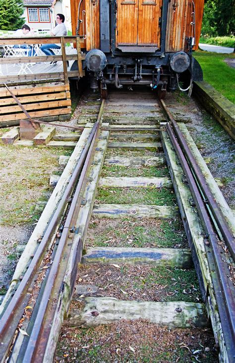Sleepers Of Railway Track by Railway Museum Outdoor Exhibits