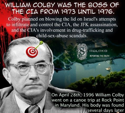 Colby Meme - all the good men die the death of william colby smoloko