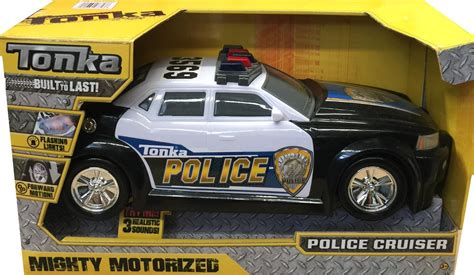 cars with lights and sirens tonka car vehicle motorised cruiser with lights and