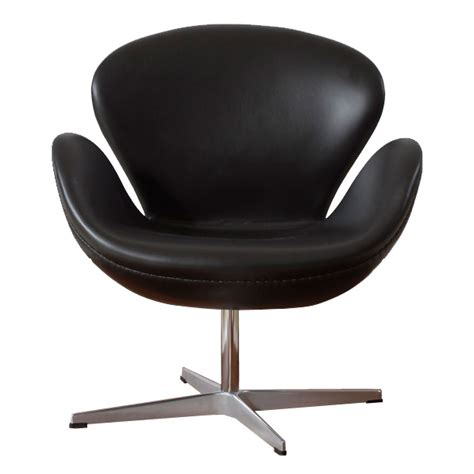 arne jacobsen style swan chair