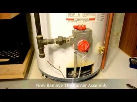 gas water heater pilot light won t stay lit how to light a honeywell water heater pilot youtube