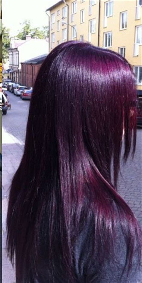 cheveux prune couleur pictures to pin on pinterest this color is stunning very me hair pinterest