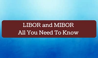 libor and mibor: all you need to know | bank exams today