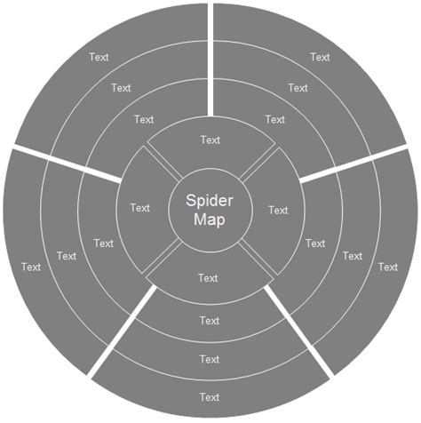 spider report organizer spider diagram free templates and exles download