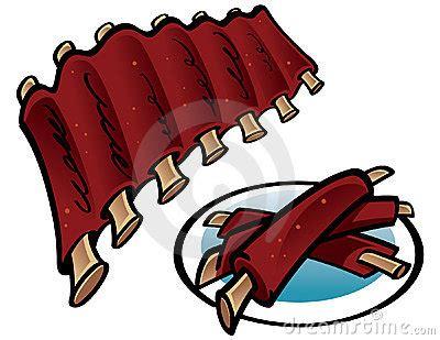 ribs clipart pork ribs clipart
