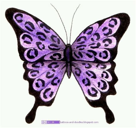 free butterfly tattoo designs to print 17 best images about my butterflies on pink