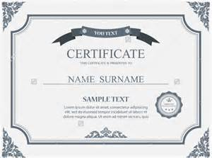 certificate vector template 30 blank certificate templates free psd vector eps ai