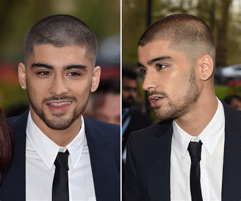 whos that asian bald headed in cadillac commercial zayn malik hair cut his shaved head gets mixed reviews