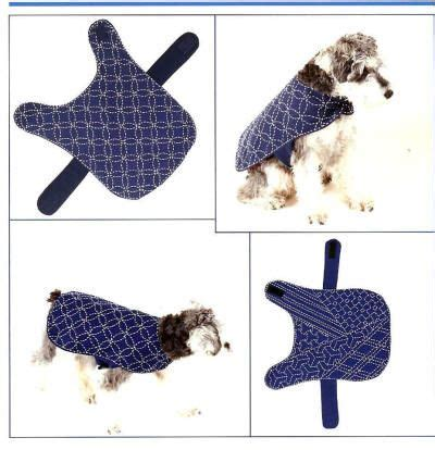 free download pattern for dog coat sashiko coats for dogs i love the one on the left