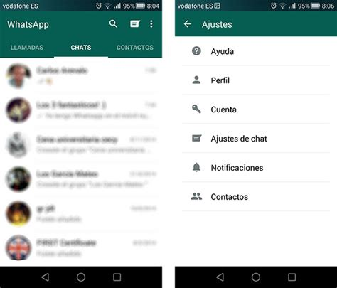 what s android official whatsapp material design update android