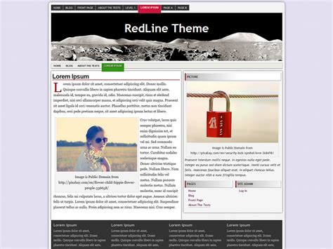 theme line unik download template blog wordpress gratis