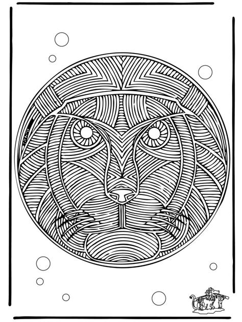 animal mandala coloring pages 9 best of animal mandala coloring pages bestofcoloring