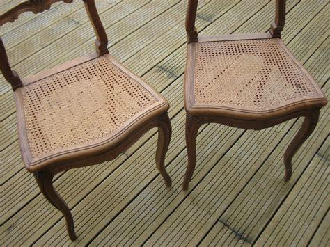Chaises Cannées les chaises avant et apr 232 s