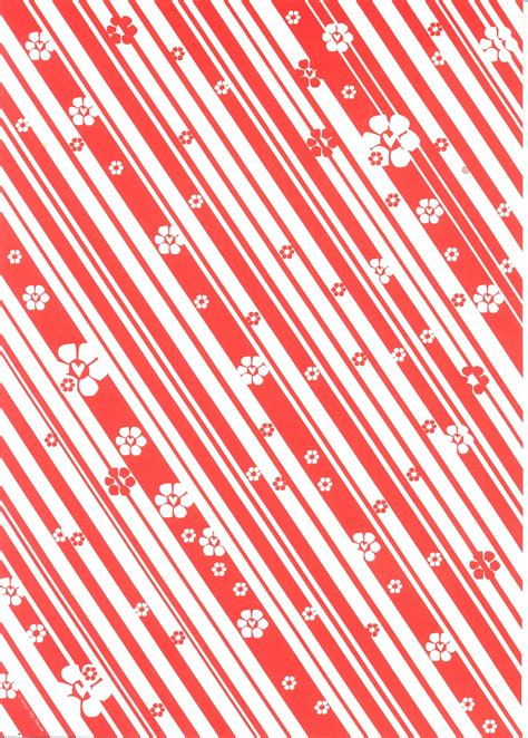 Decorative Papers For Crafting - white stripe a4 decorative paper pda